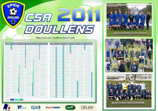 calendrier CSA 2011