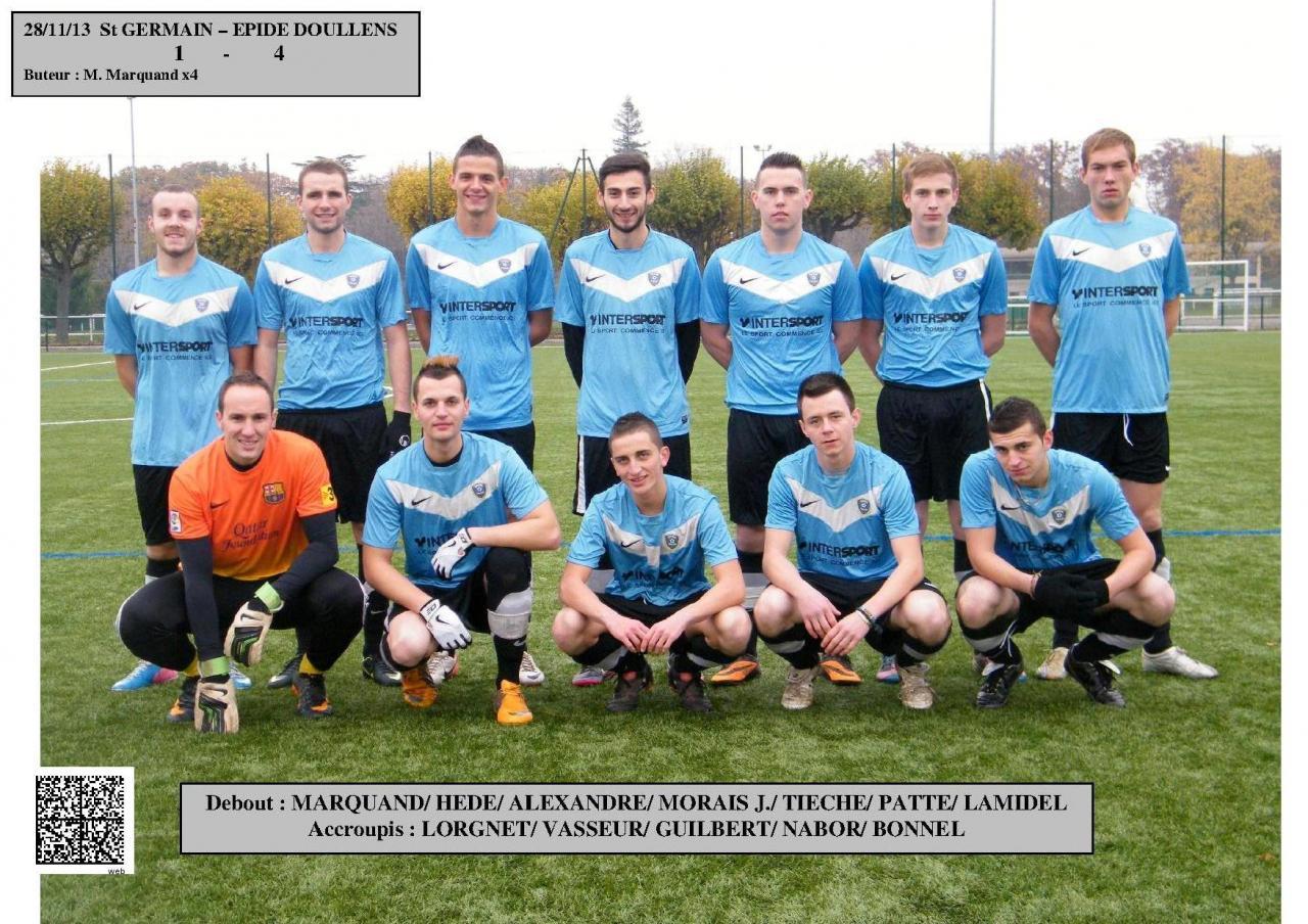 Equipe à St Germain 28.11.13