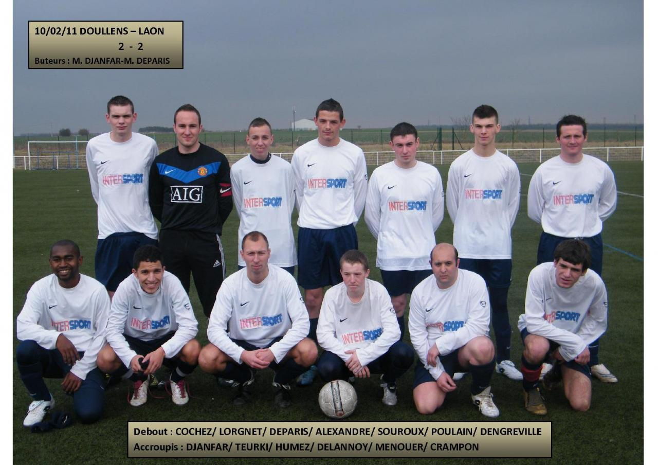 Match Doullens-Laon 10.02.11