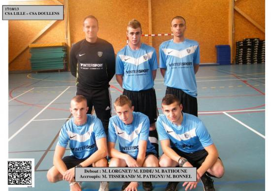Match amical Lille-Doullens Futsal 17.10.13