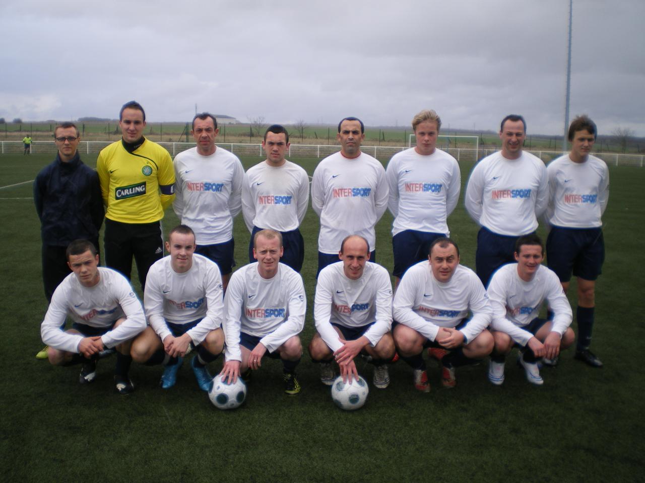 3ème Match de championnat contre Pompiers de Paris 03/12/09