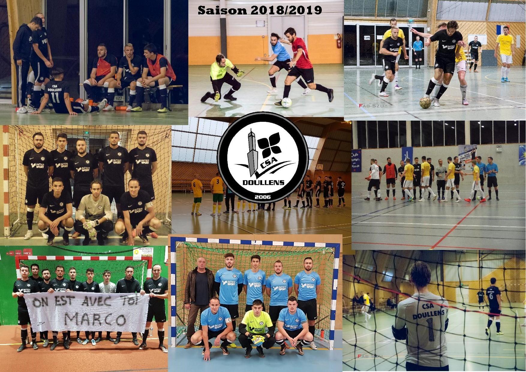 Saison 2018 2019 seniors