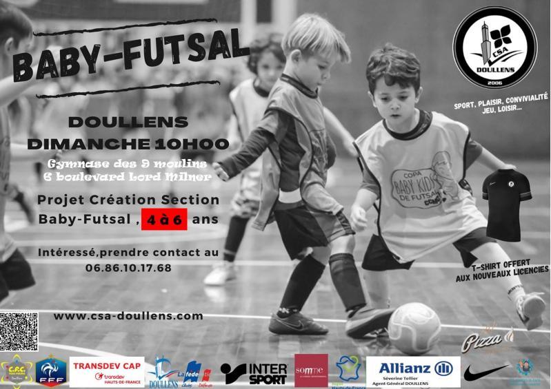 Affiche baby futsal 2021 2022a