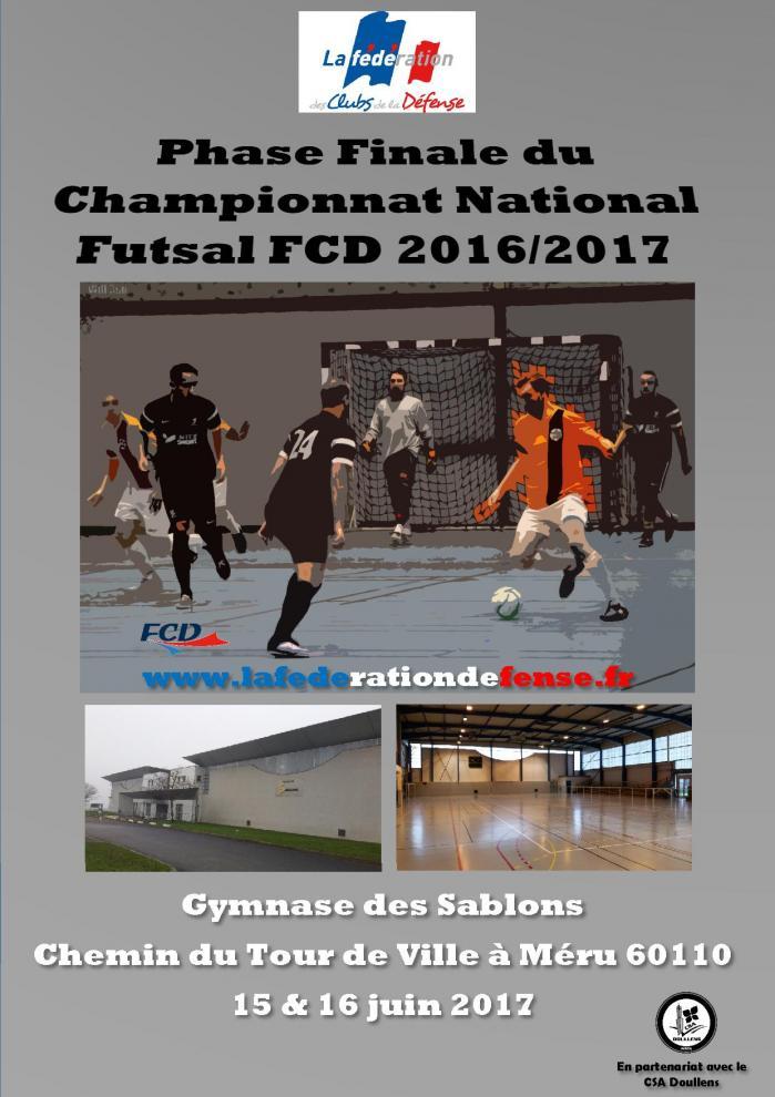 Affiche finale futsal fcd meru bis
