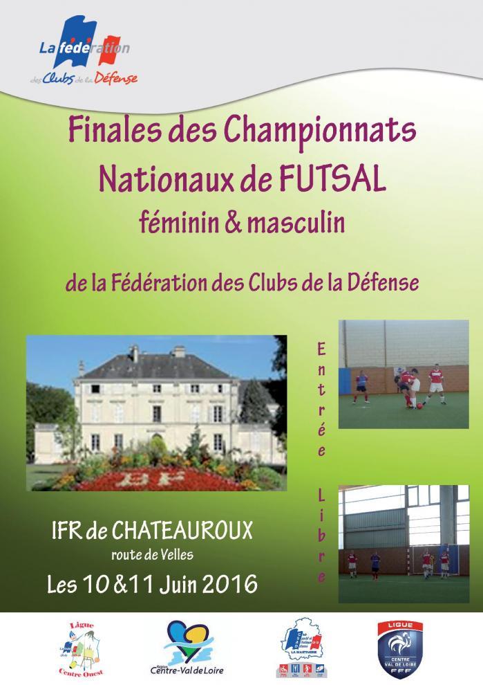 Affiche futsal fcd 2016