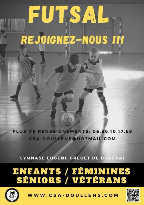 Futsal rejoignez nous