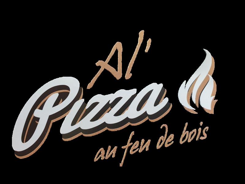 Logo al pizza