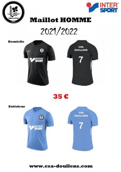 Maillots match 2021 2022