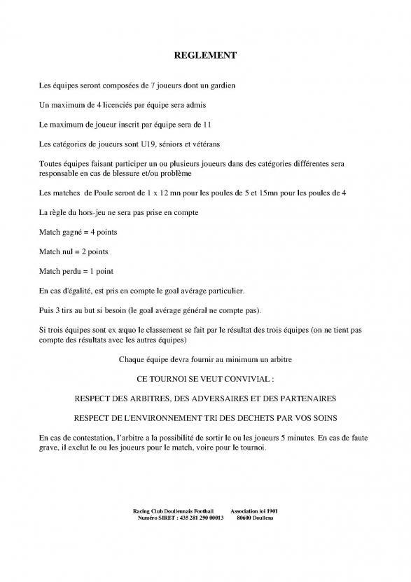 Reglement 2